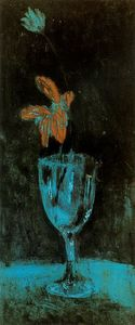 Pablo Picasso - The blue vase