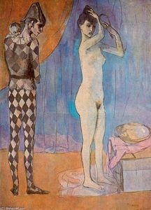 Pablo Picasso - The Harlequin-s family