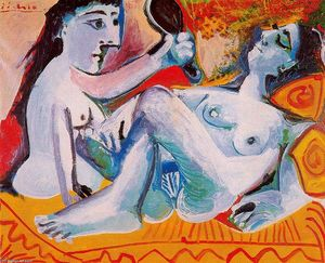Pablo Picasso - The two friends 1