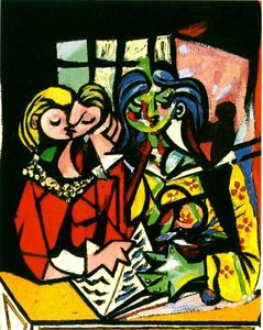 Pablo Picasso - Two figures