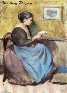 Pablo Picasso - Woman reading 1