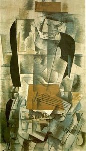 Pablo Picasso - Woman with a guitar