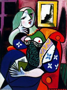 Pablo Picasso - Woman with Book (Portrait of Marie-Thérèse Walter)