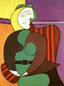Pablo Picasso - Woman with flower