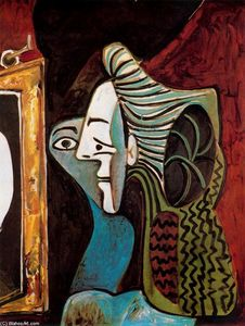 Pablo Picasso - Woman with Mirror