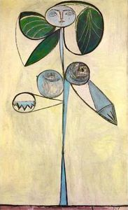 Pablo Picasso - Woman-flower