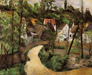 Paul Cezanne - A Turn in the Road