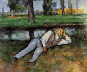 Paul Cezanne - Boy Resting