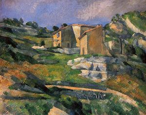 Paul Cezanne - Houses in Provence