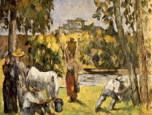 Paul Cezanne - Life in the Fields