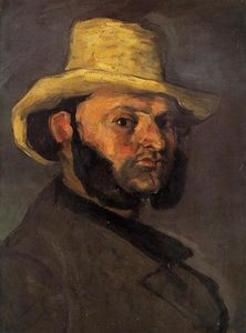 Paul Cezanne - Man in a Straw Hat
