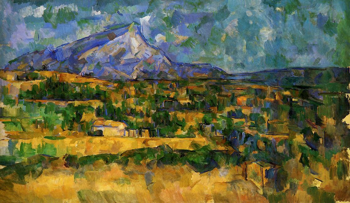 Mont Sainte-victoire With Large Pine Mont Sainte-victoire 2
