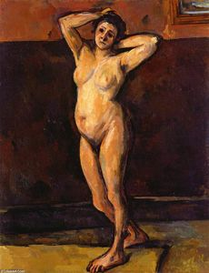 Paul Cezanne - Nude Woman Standing