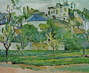 Paul Cezanne - Orchard in Pontoise