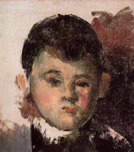 Paul Cezanne - Portrait of the Artist's Son (unfinished)