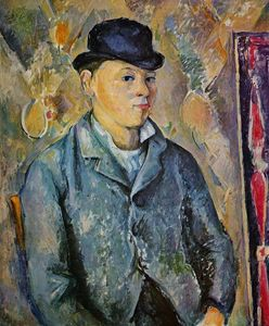 Paul Cezanne - Portrait of the Artist-s Son, Paul