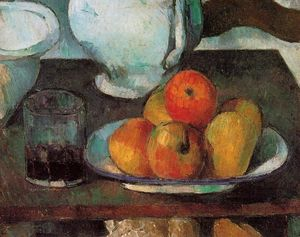 Paul Cezanne - Still Life with Apples 1