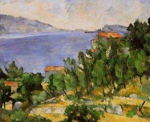 Paul Cezanne - The Bay of L'Estaque from the East