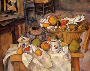 Paul Cezanne - The Kitchen Table
