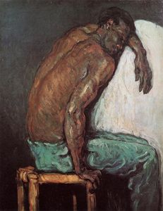 Order Paintings Reproductions | The Negro Scipio, 1867 by Paul Cezanne (1839-1906, France) | WahooArt.com