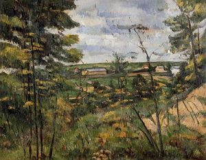 Paul Cezanne - The Oise Valley 1