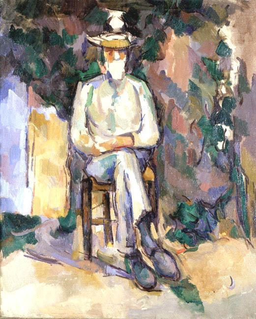The Old Gardener, 1906 by Paul Cezanne (1839-1906, France) | Art Reproduction | WahooArt.com