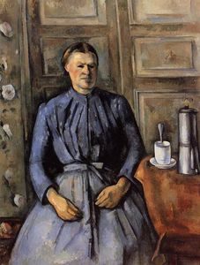 Paul Cezanne - Woman with a Coffee Pot