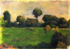 Paul Gauguin - Farm in Brittany