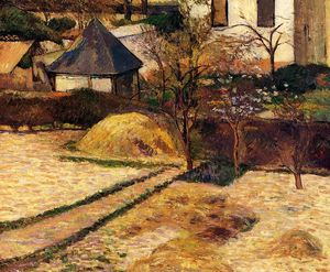 Paul Gauguin - Garden View, Rouen
