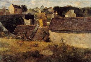 Paul Gauguin - Houses, Vaugirard