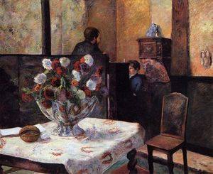 Paul Gauguin - Interior of the Painter-s House, rue Carcel