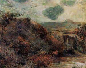 Paul Gauguin - Mountain landscape