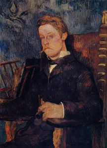 Paul Gauguin - Portrait of a seated man