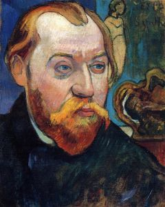 Paul Gauguin - Portrait of Louis Roy