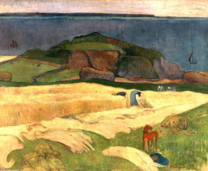 Paul Gauguin - Seaside Harvest, le Pouldu