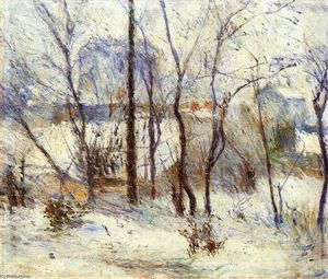 Paul Gauguin - Snow at Vaugirard