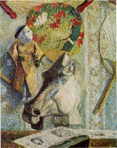 Paul Gauguin - Still life with horse-s head