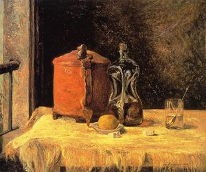 Paul Gauguin - Still Life with Mig and Carafe
