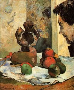 Paul Gauguin - Still Life with Profile of Laval