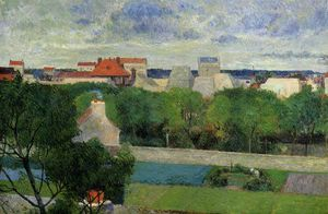 Paul Gauguin - The market gardens of Vaugirard