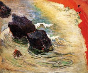 Paul Gauguin - The wave