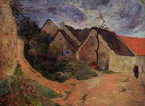 Paul Gauguin - Village street, Osny