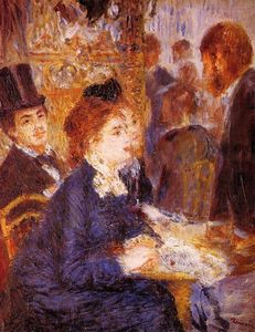Pierre-Auguste Renoir - At the Cafe 1