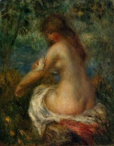 Pierre-Auguste Renoir - Bather 2