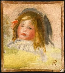 Pierre-Auguste Renoir - Child with Blond Hair