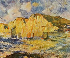 Pierre-Auguste Renoir - Cliffs