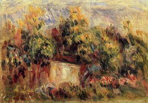 Pierre-Auguste Renoir - Cottage near Collettes