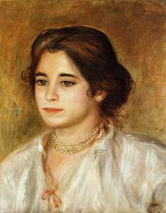 Pierre-Auguste Renoir - Gabrielle Wearing a Necklace