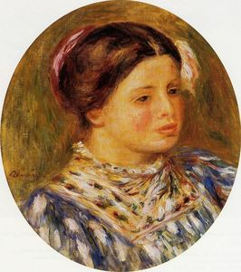 Pierre-Auguste Renoir - Girl in Blue