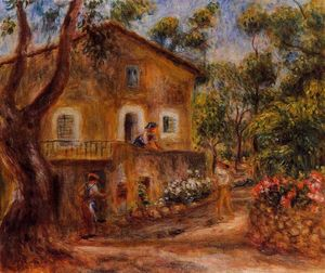 Pierre-Auguste Renoir - House in Collett at Cagnes
